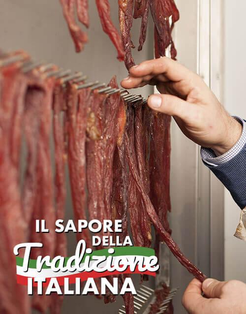 il beef jerky italiano: carne secca di maiale